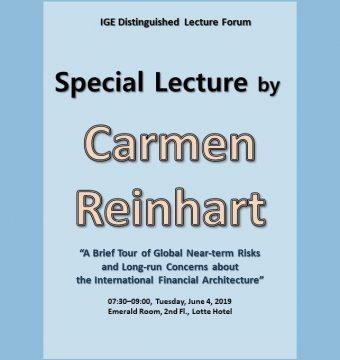 [June 4, 2019] Dr. Carmen Reinhart