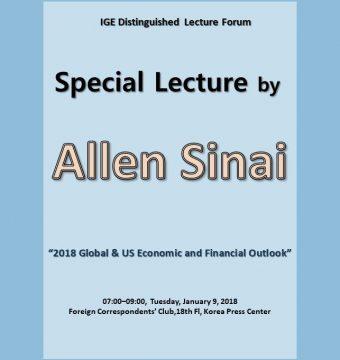 [January 9, 2018]  Dr. Allen Sinai