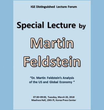 [March 20, 2018] Dr. Martin Feldstein