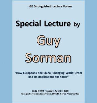 [April 17, 2018] Guy Sorman