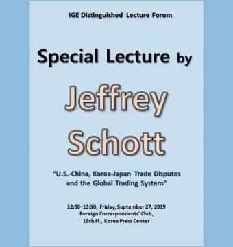[September 27, 2019] Mr. Jeffrey Schott