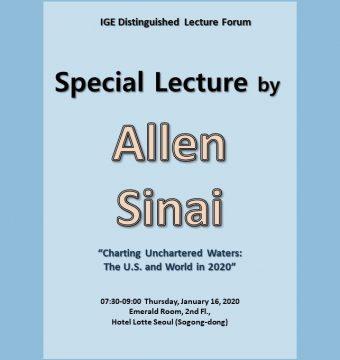 [January 16, 2020] Dr. Allen Sinai